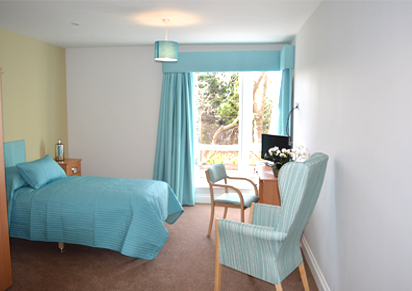 Private bedroom with ensuite, Wardley Gate Care Home